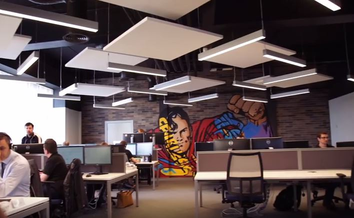 Office graphics graphics interior design belfast