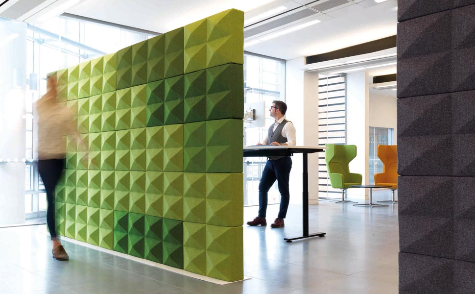 "Acoustic Spaces ""Boost Well-Being Of Office Workers"""