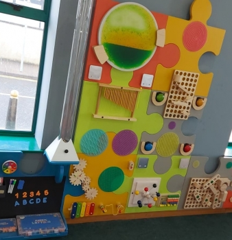 Sensory Wall: Buncrana Library